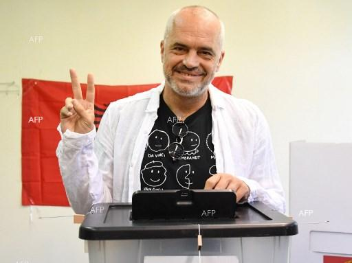 Socialist party of Edi Rama wins elections in Albania. June 26, 2017.