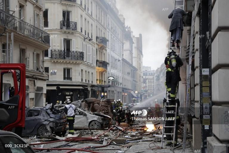 AFP: Several injured in powerful blast at Paris bakery: police