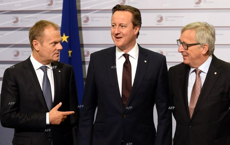 British PM David Cameron starts talks with European leaders over reforms.
