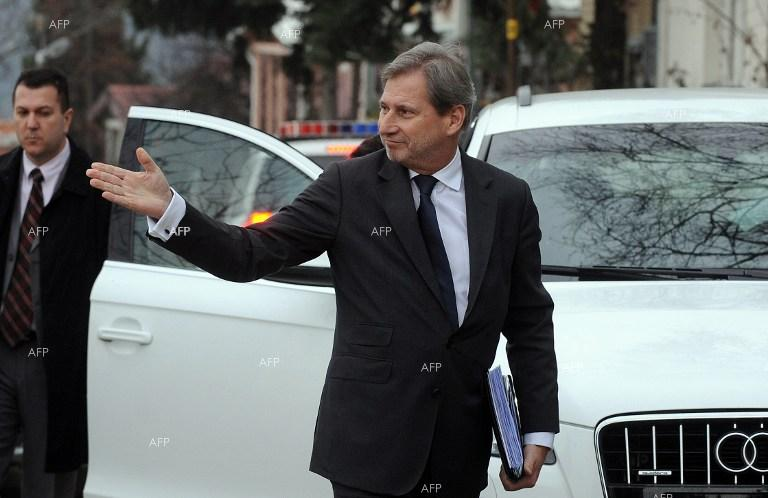 Johannes Hahn: Serbia, Montenegro accession by 2025 is 'ambitious'