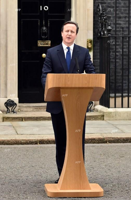 British Prime Minister David Cameron announced the start of the campaign for the general election in May.