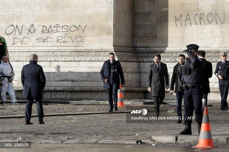AFP: French PM to detail Macron's measures to appease 'yellow vests'