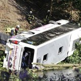 Picture: AFPAFP: Colombia says 19 citizens killed in tourist bus crash