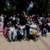 Parents of children with disabilities protest in Burgas and Varna