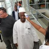 Ebola-hit Liberia unveils strict border checks
