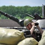 Kiev says two Russian armoured vehicles captured in east Ukraine