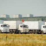 First Russian humanitarian convoy enters territory of Ukraine