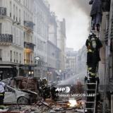 Picture: AFPAFP: Several injured in powerful blast at Paris bakery: police