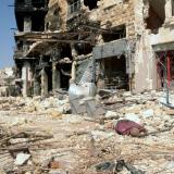 Regime barrel bombs kill 45 civilians in Syria's Aleppo: monitor
