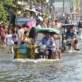 One dead as tropical storm flooding paralyses Philippine capital