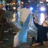 World Cup defeat leads to clashes in Buenos Aires