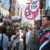 Protests in Bulgaria's capital and Varna against TTIP agreement between EU and U.S.A. (ROUNDUP)
