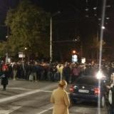 Demonstration blocks traffic in downtown Sofia