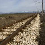 Train movement restored in NE Bulgaria as train damages overhead contact system