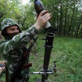 Ukraine soldier killed, 7 injured in east