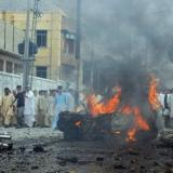 Picture: AFPOne dead, 400 injured in Pakistan protest clashes