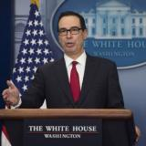 Picture: AFPTreasury Secretary Mnuchin says he feels obligated to help the middle class