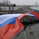 Tens of thousands march for slain Russian opposition leader Nemtsov