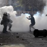 Greek police fire tear gas to disperse angry farmers in Athens