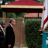 Erdogan insists on two-state solution on Cyprus visit