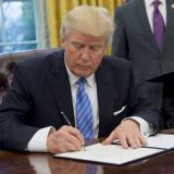 AFP: Trump signs orders reviving Keystone, Dakota pipelines