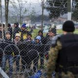 Greek police evacuate 1,000 more migrants from squalid camp