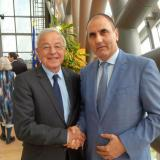 CEDB deputy chairman met with the Chairman of EU Parliament's special committee on tax ruling