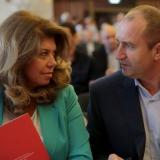 Bulgaria's new president, vice president-elect take oath at parliament