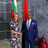 Foreign Minister of Angola to Ekaterina Zaharieva: We count on Prime Minister Borissov and Bulgaria to become our gateway to the EU