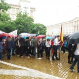 Celebratory procession on the occasion of May 24 started from the Presidency, led by President Rumen Radev