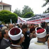 Bulgarian Muslims staged protest over Kurshum Dzhamiya Mosque (ROUNDUP)