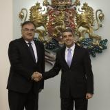 Bulgaria President meets with Chairman of the Presidency of Bosnia and Herzegovina (ROUNDUP)