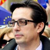 Press 24, Macedonia: Two days before the political campaign's end Stevo Pendarovski visited Kosovo