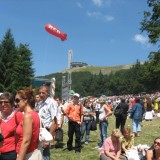 Over 45,000 Bulgaria socialists gather at Buzludzha Peak