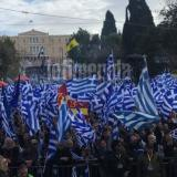 Picture: EfimeridaAFP:Thousands protest in Athens against Macedonian accord