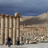 UNESCO condemns IS destruction of Arch of Triumph in Syria's Palmyra