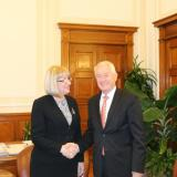 Bulgarian National Assembly Chairperson met with Secretary General of the Council of Europe (ROUNDUP)