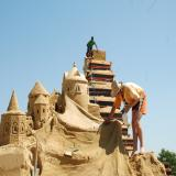 9th Sand Sculptures Festival kicks off in coastal Burgas