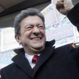 Picture: AFPFrench election: Sharp-tongued Mélenchon galvanises left