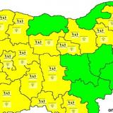 Picture: НИМХNIMH: Code Yellow warning for dangerous weather in place in 17 Bulgarian regions