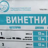 Bulgarian 2014 toll stickers expire on January 31