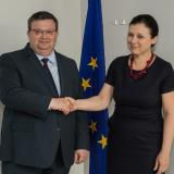 EU Justice Commissioner to Bulgaria's Prosecutor General: You're on the right track! (ROUNDUP)