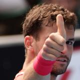 Bulgaria's Grigor Dimitrov eases into U.S. Open second round