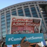Turkish Minute:Press organizations condemn Turkish media for ignoring Cumhuriyet trial