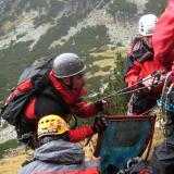 Rescue operation near Rila Monastery
