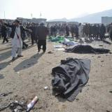 Picture: AFPAFP: Death toll in Kabul Shiite mosque attack jumps to 56
