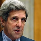 Kerry says sanctions not to be lifted until Russia implements Minsk deals