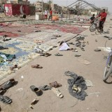 Islamic State claims Shia mosque bombing: BBC
