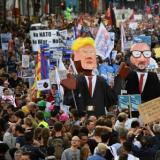 Voice of America: Protests Target Both NATO and Trump in Brussels