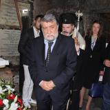 Bulgarian delegation led by Culture Minister, bows at tomb of St. Cyril in Rome (ROUNDUP)